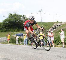 Lance Armstrong Col de la Madeleine by Liam Fitzpatrick