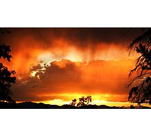 Unforgettable Fire Photographic Print
