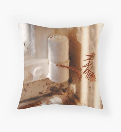 Hang Tough Throw Pillow