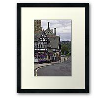 Bridge Inn Framed Print