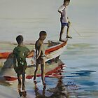 Lake Malawi boys by Shirlroma