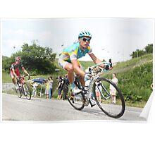 2010 Col de la Madeleine Poster