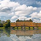 Drottningholm, the residence of the King of Sweden by Dan Shalloe