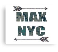 MAX NYC Canvas Print