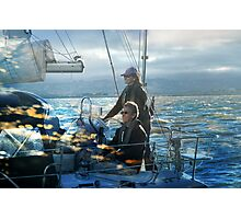 Happy Sailing my Friends! Photographic Print