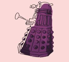 Purple Dalek Kids Clothes