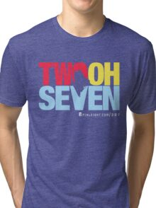 Two Oh Seven - Pixleight edition. Tri-blend T-Shirt