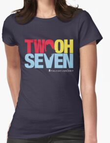 Two Oh Seven - Pixleight edition. Womens Fitted T-Shirt