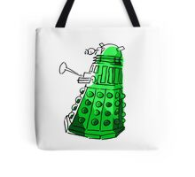 Green Dalek Tote Bag
