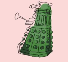 Green Dalek Kids Clothes