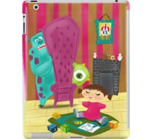 Monsters Inc Painting iPad Case/Skin
