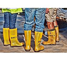 Yellow Boots Photographic Print