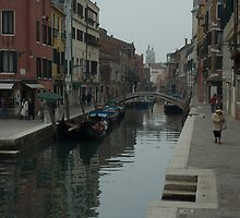 Backstreets in Venice by GaryMcKiernan