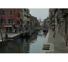 Backstreets in Venice Photographic Print