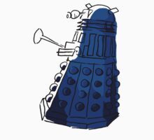 Blue Dalek Kids Clothes