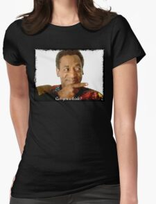 Get you a Drink? Bill Cosby Womens Fitted T-Shirt