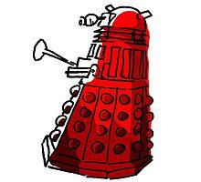 Red Dalek by PurpleSparklies
