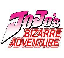 Jojo's Bizarre Adventure LOGO Photographic Print