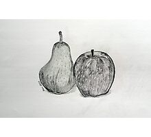 A Day in the Life of Fruit Photographic Print