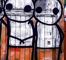 Street Art by Stik  by Tim Constable