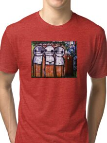 Street Art by Stik  Tri-blend T-Shirt