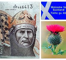 "Welcome to Scotland! featured in ""Freedom in Words & Art"" & ""Inspirational Greeting Cards"" by ©The Creative  Minds"