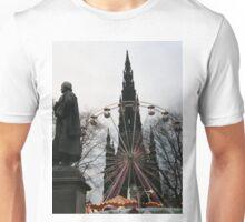 Princess street Edinburgh Scotland Unisex T-Shirt