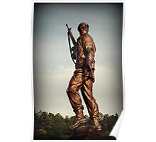 Special Forces Monument Poster