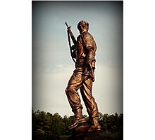 Special Forces Monument Photographic Print