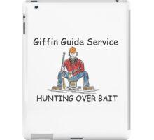 Hunting Over Bait iPad Case/Skin