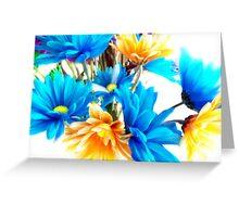 Notes Of Painted Daisies II Greeting Card