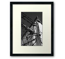 Beautiful Keswick- Barbed Wire Framed Print