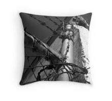Beautiful Keswick- Barbed Wire Throw Pillow