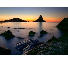 Rocks at sunrise  Photographic Print