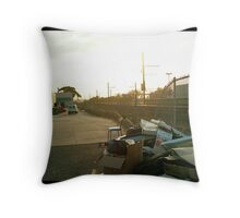 Hoppers Crossing Station Throw Pillow