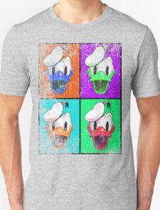 Donald Duck pop art distressed Unisex T-Shirt