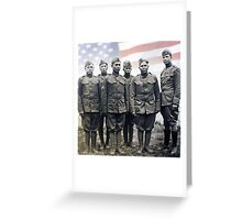 18 Choctaw WWI Code Talkers Greeting Card