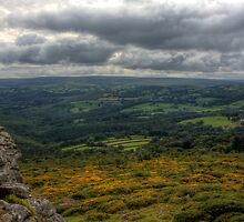 Storm Clouds at Buckland Beacon by David-J