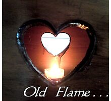 Old flame  Photographic Print