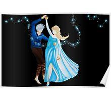 Dancing Jack and Elsa (Dancing Jelsa) Stars version Poster