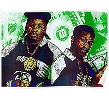 Eric B and rakim are paid in full Poster