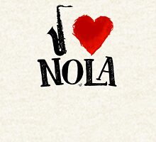 I Heart New Orleans (remix) by Tai's Tees Hoodie