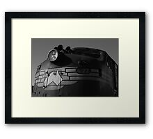 Bullnose locomotive Framed Print