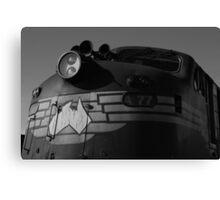 Bullnose locomotive Canvas Print