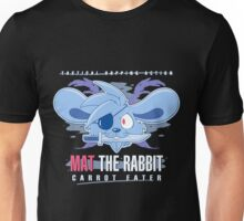 Mat the Rabbit: Carrot Eater Unisex T-Shirt
