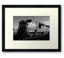 Bullnose diesel-electric locomotive Framed Print