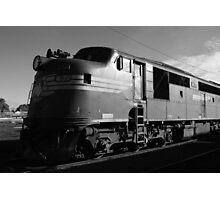 Bullnose diesel-electric locomotive Photographic Print