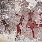 Ancient African Bushman Rock Art 01 by serendip