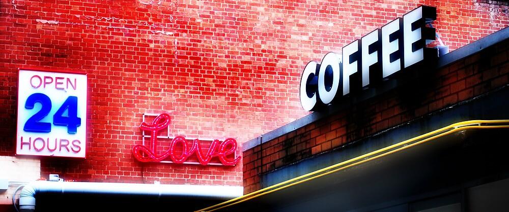 Love coffee by Mark Malinowski