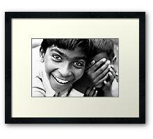 Big Laughter Framed Print